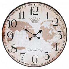 Mi Casa klok The World Map 10539