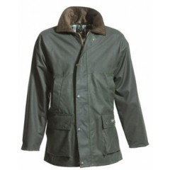 Mongo Waxjas Basic Winter Jacket Groen