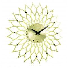 London Clocks Gold Flower 24210