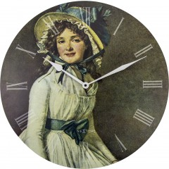 Nextime klok Portrait of Mrs Serizy Wood 50  3186