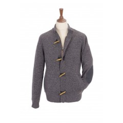 Mongo Walton Jumper Grey Tweed