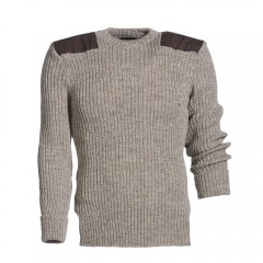 Mongo wollen trui Vintage Heather Mix