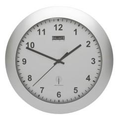 Balance Time Wandklok 506418 Zilver