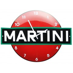 Emaille klok Martini KLM-09