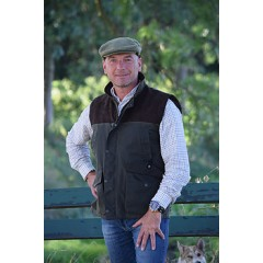 Hunter Town and Country Shooting wax bodywarmer