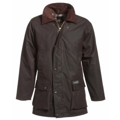 Mongo Waxjas Basic Winter Jacket Bruin