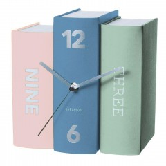 Karlsson Klok Book pastel tones paper, 20x15x20cm KA5630