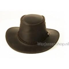 Scippis Bushman leren hoed Bruin