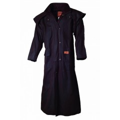 Scippis oilskin wax Riding Coat 1020 Zwart