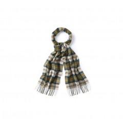 Barbour Tartan Lambswool scarf Ancient