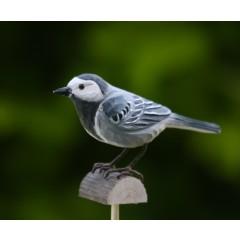 DecoBird Witte Kwikstaart