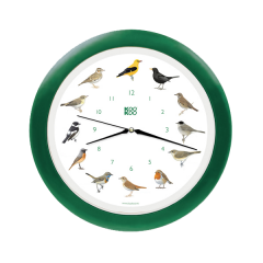 Klok Zangvogel groen SV1001